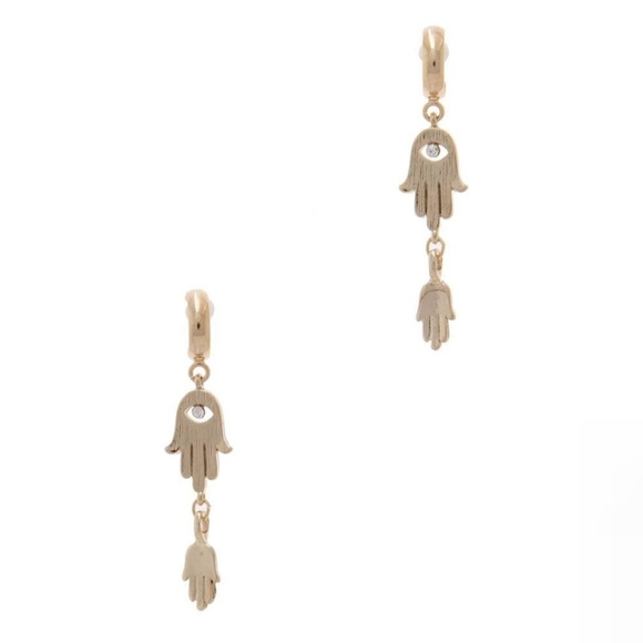 Jewelry - Hamsa Hand Earrings